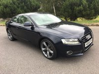 USED 2008 08 AUDI A5 3.0 TDI QUATTRO DPF SPORT 3d AUTO 240 BHP GREAT LOOKING CAR TAKEN IN P/X BY US WITH THE EXCELLENT 3.0 DIESEL ENGINE THAT HANDLES THE MILES PERFECTLY FULL CREAM LEATHER NEW MOT AND FSH