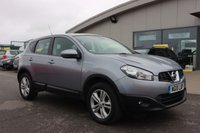 USED 2010 10 NISSAN QASHQAI 1.5 ACENTA DCI 5d 105 BHP LOW DEPOSIT OR NO DEPOSIT FINANCE AVAILABLE.