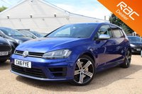 USED 2016 16 VOLKSWAGEN GOLF 2.0 R 5d 298 BHP Bluetooth, Xenons, VW warranty