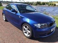 USED 2010 10 BMW 1 SERIES 2.0 120D SPORT 2d 175 BHP **SPORTS BLUE**