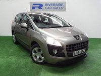 USED 2013 63 PEUGEOT 3008 1.6 E-HDI ACTIVE 5d AUTO 115 BHP