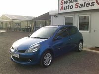 USED 2007 57 RENAULT CLIO 1.5 DCI DYNAMIQUE S 1 OWNER FROM NEW, FULL SERVICE HISTORY, £33 PER WEEK