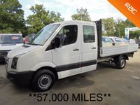 USED 2007 57 VOLKSWAGEN CRAFTER Double Cab Dropside 2.5 TDi 109 35 LWB *57,000 MILES*