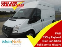 2014 FORD TRANSIT LWB 300 FWD High Roof 125ps £7995.00