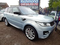 USED 2015 15 LAND ROVER RANGE ROVER SPORT 4.4 SDV8 AUTOBIOGRAPHY DYNAMIC 5d AUTO 339 BHP MASSIVE SPEC 4.4 AUTOBIOGRAPHY, REAR ENTERTAINMENT