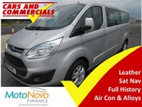 2015 FORD TOURNEO CUSTOM 300 L2 TITANIUM 125ps 9-Seats £15500.00