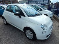 USED 2010 10 FIAT 500 1.2 POP 3d 69 BHP FULL SERVICE HISTORY, LOW TAX AND INSURANCE