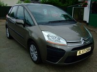 USED 2007 57 CITROEN C4 PICASSO 1.6 SX HDI 5STR EGS 5d AUTO 108 BHP BUY NOW 1ST PAYMENT NOV 201