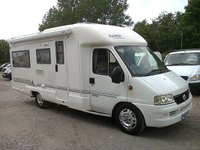 USED 2002 52 FIAT DUCATO RAPIDO 772F 3 BERTH **FIXED BED** MOTORHOME