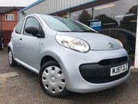 USED 2007 57 CITROEN C1 1.0 COOL 5d 68 BHP AIR CON, LOW MILEAGE!