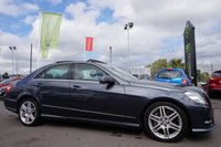 USED 2012 62 MERCEDES-BENZ E CLASS 3.0 E350 CDI BLUEEFFICIENCY S/S SPORT 4d AUTO 265 BHP Phenomenal Specification