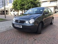 2004 VOLKSWAGEN POLO 1.4 TWIST 5d 74 BHP £SOLD