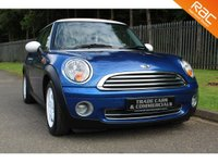 USED 2007 57 MINI HATCH ONE 1.4 ONE 3d 94 BHP A 1400cc MINI WITH LOW MILEAGE AND A FULL MINI SERVICE HISTORY!!!