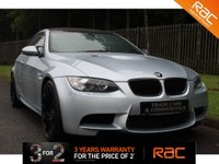 USED 2008 58 BMW M3 4.0 M3 2d 415 BHP A STUNNING EXAMPLE WHICH COMES WITH A FULL HISTORY, MUST BE SEEN.......