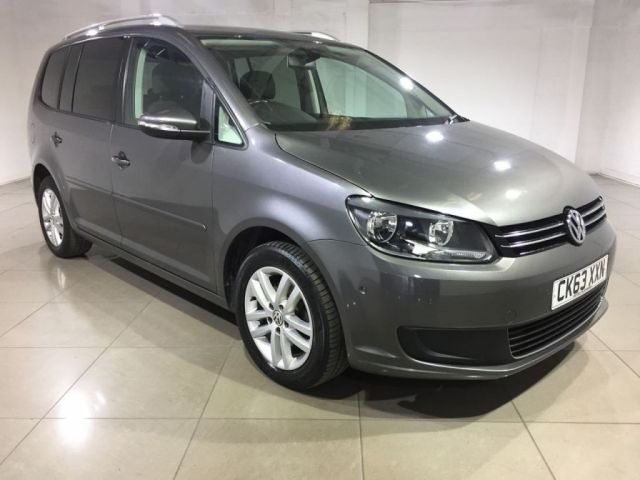 View our 2013 63 VOLKSWAGEN TOURAN 1.6 SE TDI BLUEMOTION TECHNOLOGY 5d 103 BHP