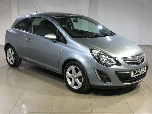 View our 2013 62 VAUXHALL CORSA 1.2 SXI AC 3d 83 BHP