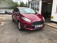 USED 2013 13 FORD FIESTA 1.6 ZETEC 5d AUTO 104 BHP PLEASE CALL TODAY FOR TEST DRIVE ALL CARS AA INSPECTED