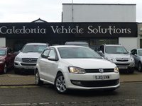 USED 2013 13 VOLKSWAGEN POLO 1.2 MATCH TDI 5d 74 BHP ONE FORMER KEEPER with FULL HISTORY, 12 MONTHS MOT, THIS CAR IS ZERO ROAD TAX with EXCEPTIONAL MILES PER GALLON,