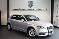USED 2014 14 AUDI A3 1.2 TFSI SE 3DR AUTO 104 BHP + FULL AUDI SERVICE HISTORY + BLUETOOTH + SPORT SEATS + DAB RADIO + HEATED MIRRORS + AUXILIARY PORT + 16 INCH ALLOY WHEELS +