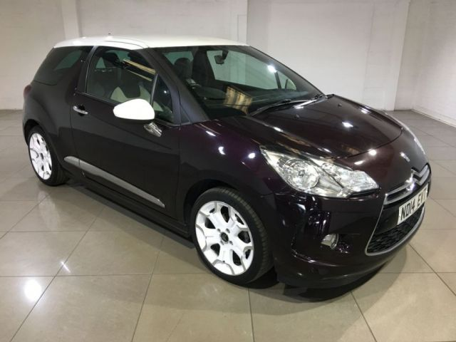 View our 2014 14 CITROEN DS3 1.6 E-HDI DSTYLE 3d 90 BHP