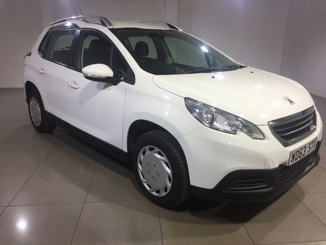 View our 2014 63 PEUGEOT 2008 1.4 HDI ACCESS PLUS 5d 68 BHP