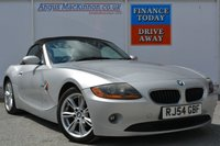 USED 2004 P BMW Z4 2.5 Z4 SE ROADSTER 2d 190 BHP CONVERTIBLE AUTO