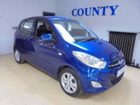 USED 2013 13 HYUNDAI I10 1.2 ACTIVE 5d 85 BHP * TWO OWNERS * FULL HISTORY *