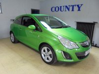 USED 2012 61 VAUXHALL CORSA 1.2 SXI AC 3d 83 BHP * TWO OWNERS * SUPERB LOOKING *