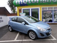 USED 2013 13 VAUXHALL CORSA 1.2 SE 5d 83 BHP JUST ARRIVED 5 DOOR CORSA