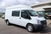 USED 2012 61 FORD TRANSIT 2.4 350 H/R 1d 115 BHP LOW DEPOSIT OR NO DEPOSIT FINANCE AVAILABLE.