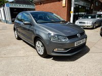 USED 2014 64 VOLKSWAGEN POLO 1.2 SE TSI 3d 89 BHP ONE OWNER,FULL HISTORY,AUX AND USB PORTS