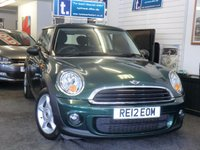 2012 MINI HATCH ONE 1.6 ONE D 3d 90 BHP £5999.00
