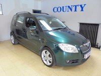 USED 2008 58 SKODA ROOMSTER 1.9 3 TDI 5d 103 BHP * TWO OWNERS * FULL HISTORY *
