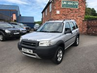 USED 2003 03 LAND ROVER FREELANDER 2.0 TD4 GS STATION WAGON 5d 110 BHP Trade sale 12 months mot