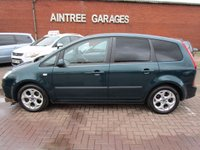 USED 2008 08 FORD C-MAX 1.8 ZETEC 5d 124 BHP IDEAL MPV PRIVACY GLASS