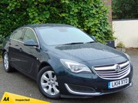USED 2014 14 VAUXHALL INSIGNIA 2.0 TECH LINE CDTI ECOFLEX S/S 5d **SATALLITE NAVIGATION / BLUETOOTH**128 POINT AA INSPECTED**
