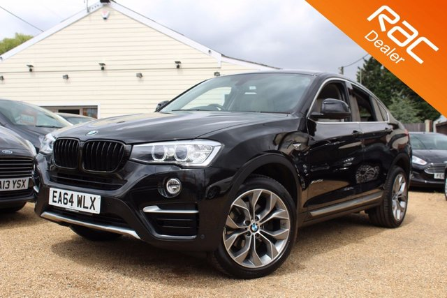 View our 2014 64 BMW X4 2.0 XDRIVE20D XLINE 4d AUTO 188 BHP