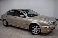 2003 JAGUAR X-TYPE 2.1 V6 SE 4d AUTO 157 BHP £695.00
