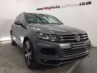 USED 2014 63 VOLKSWAGEN TOUAREG 3.0 V6 R-LINE TDI BLUEMOTION TECHNOLOGY 5d AUTO 242 BHP *** PANORAMIC ROOF ***