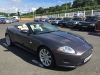 USED 2007 07 JAGUAR XK 4.2 CONVERTIBLE AUTO 294 BHP Only 32,000 miles with FSH 9 Services. High spec inc 19 inch alloys