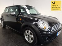 USED 2010 10 MINI HATCH COOPER 1.6 COOPER 3d AUTO 118 BHP HISTORY-VERY LOW MILEAGE-ISOFIX-A/C