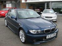 2003 BMW 3 SERIES 3.0 330CI SPORT 2d AUTO 228 BHP £3695.00