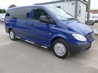 USED 2007 F MERCEDES-BENZ VITO 111 CDI LONG TRAVELINER, 110 BHP, AIR CONDITIONING, 1 COMPANY OWNER