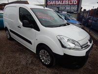 USED 2014 14 CITROEN BERLINGO 1.6 625 LX L1 HDI 1d 74 BHP 1 OWNER , FULL SERVICE HISTORY, GREAT ECONOMY, NO VAT