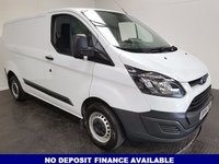 USED 2014 64 FORD TRANSIT CUSTOM 2.2 290 LR P/V 1d 99 BHP SERVICE HISTORY-1 OWNER-BLUETOOTH