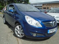 USED 2010 59 VAUXHALL CORSA 1.4 DESIGN 16V TWINPORT 3d AUTO 90 BHP 2 FORMER OWNER AUTOMATIC