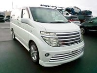 2003 NISSAN ELGRAND V and VG from £4500, Highway Star from £5000, Rider and XL from £6000 £5000.00