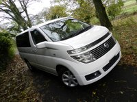 USED 2003 03 NISSAN ELGRAND Rider, Highway Star, XL, V, VG +LOTS OF ELGRANDS AVAILABLE+FROM STOCK OR TO ORDER+FROM £4500+