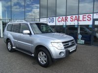 USED 2007 07 MITSUBISHI SHOGUN 3.2 GLX EQUIPPE LWB DI-D 5d 160 BHP £0 DEPOSIT, LOW RATE FINANCE ANYONE, DRIVE AWAY TODAY!!
