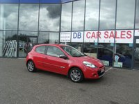USED 2012 62 RENAULT CLIO 1.1 DYNAMIQUE TOMTOM 16V 3d 75 BHP £0 DEPOSIT, LOW RATE FINANCE ANYONE, DRIVE AWAY TODAY!!